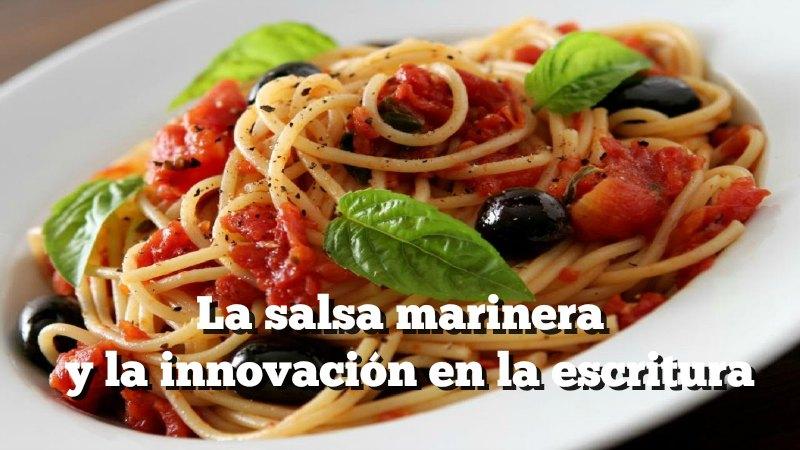 Innovación en la escritura
