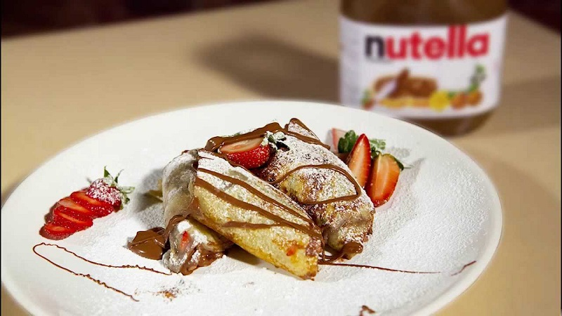 crepes nutella