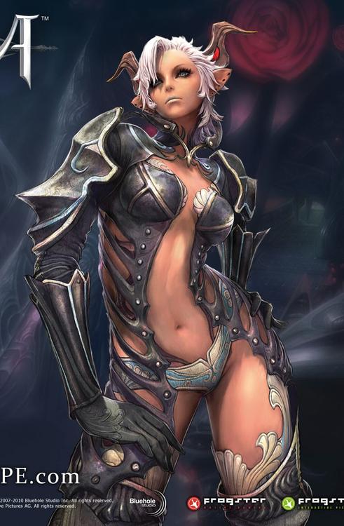 mujeres armadura
