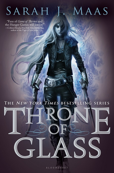 throne of glass portada